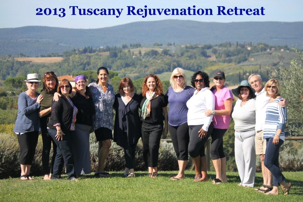2013 Tuscany Retreat Group with Jayme Barrett